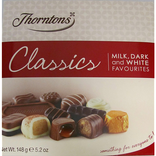 Thorntons Classic Collection Chocolate Box 248g Bestway