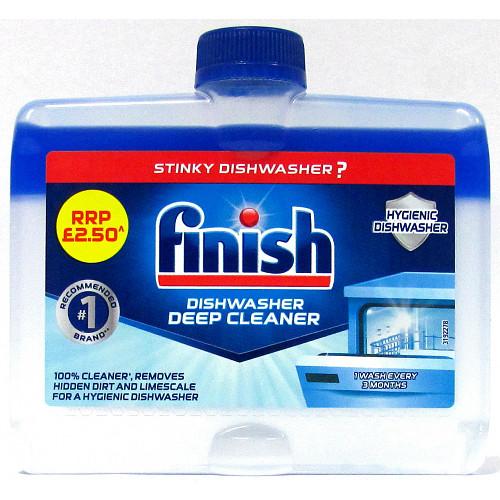 Finish Dishwasher Cleaner 8X250ml PM £2.50