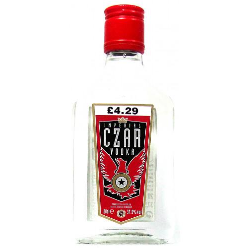 Imperial Czar Vodka PM £4.29