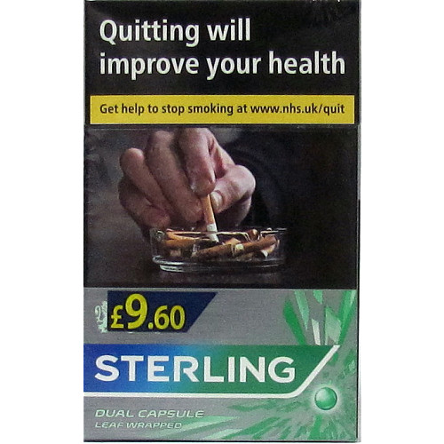 Sterling Dual Capsule Leaf Wrapped PM £9.60