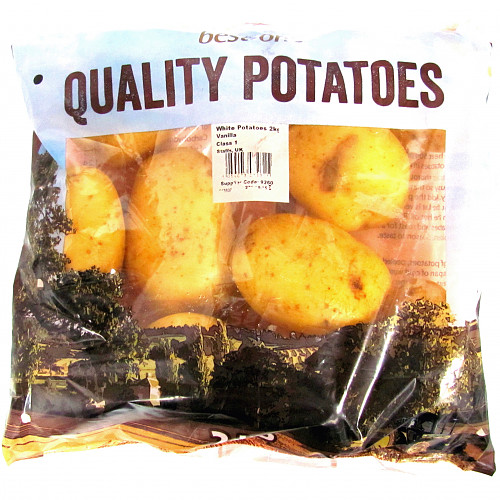 B/One White Potatoes 2Kg