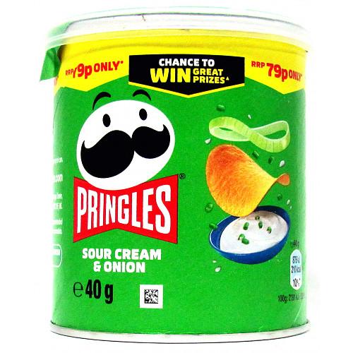 Pringles Sour Cream & Onion PM 79p