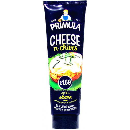 Primula Cheese Spread Mixed Tube PM £1.69
