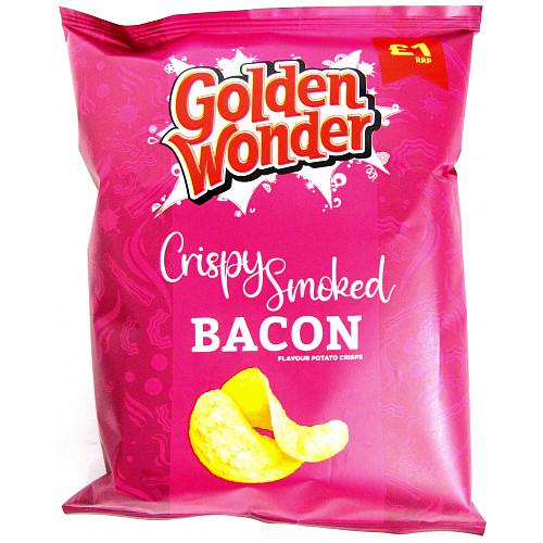 Golden Wonder Smoked Bacon PM £1