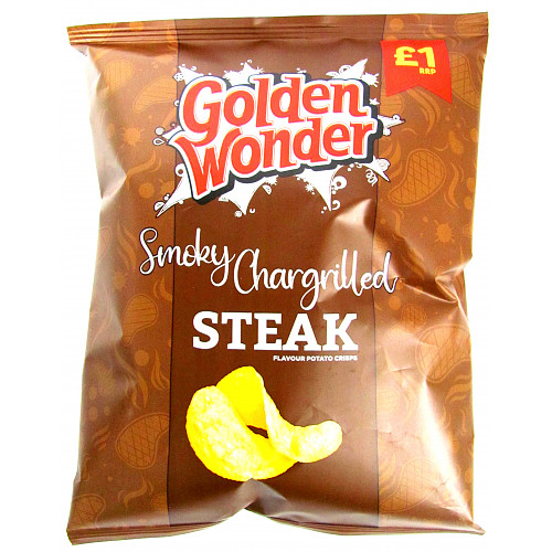 Golden Wonder Chargrilled Steak PM £1