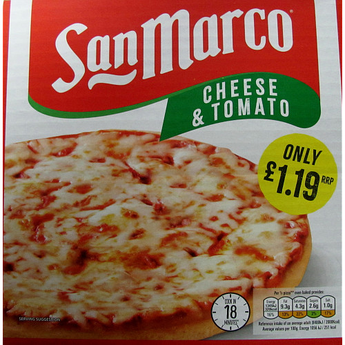 San Marco Cheese & Tomato Pizza PM £1.19