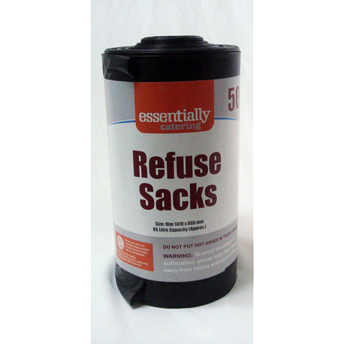 Essentially Catering Refuse Sacks