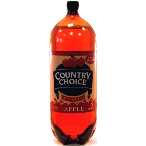 Country Choice Apple Dry Cider 3 Litres