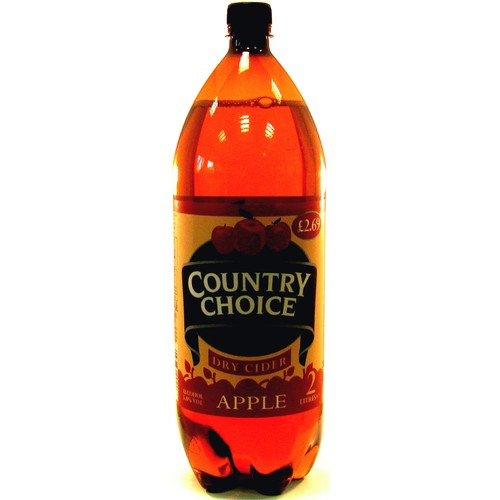Country Choice Apple Dry Cider 2 Litres