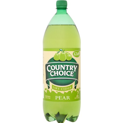 Country Choice Pear Dry Cider 2 Litres