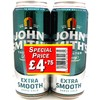 John Smiths Extra Smooth 4 For £4.75