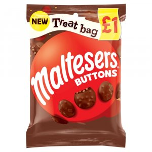 Maltesers Buttons, Galaxy Counters , Revels, Minstrels Treat Bags