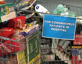 Collection for NHS COVID-19 patients
